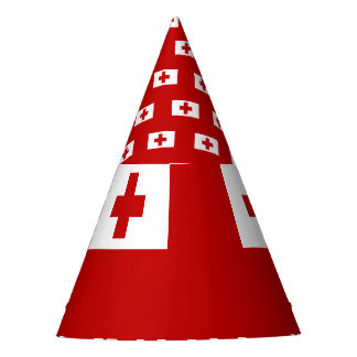 Tonga Flag Party Hat