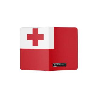 Tonga Flag Passport Holder