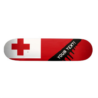 Tonga Flag Skateboards