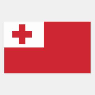 Tonga Flag Sticker