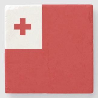 Tonga Flag Stone Coaster