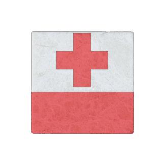 Tonga Flag Stone Magnets