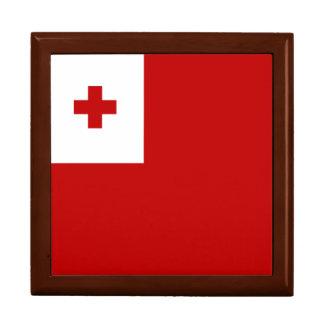 Tonga Flag Trinket Box