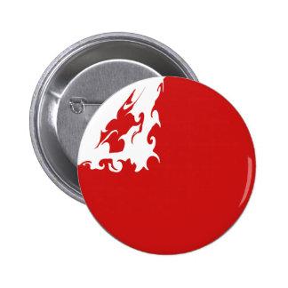 Tonga Gnarly Flag Pinback Buttons