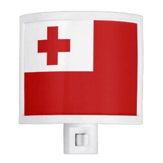 Tonga Island Flag Red Cross Night Lite