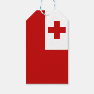 Tonga Island Flag Red Cross Pack Of Gift Tags