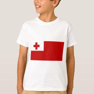 Tonga Island Flag Red Cross T-Shirt