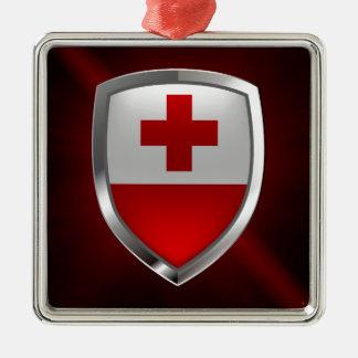 Tonga Metallic Emblem Metal Ornament