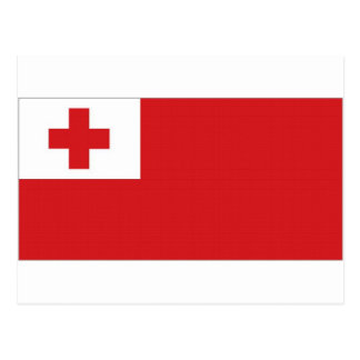 Tonga National Flag Postcard