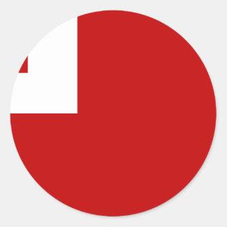 Tonga Round Sticker