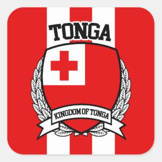 Tonga Square Sticker