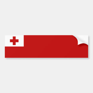 Tonga/Tongan Flag Bumper Sticker