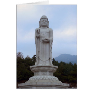 Tongail-Daebul Buddha Statue (Card) Card