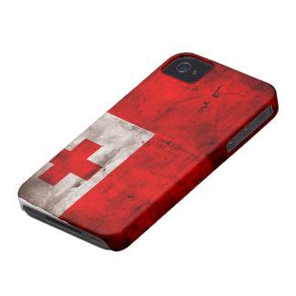 Tongan Flag iPhone 4 Covers