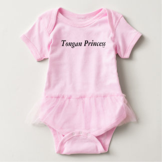 Tongan Princess Tutu Baby Bodysuit