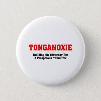 Tonganoxie, Kansas 2 Inch Round Button