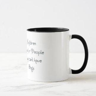 Tongue in Cheek Westie Wisdom - Children . . . Mug