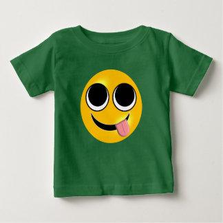 Tongue Out Emoji Baby T-Shirt