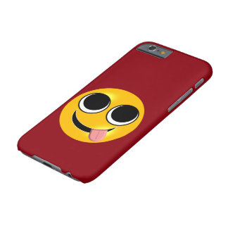 Tongue Out Emoji Barely There iPhone 6 Case
