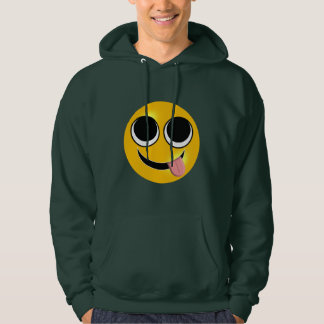 Tongue Out Emoji Hoodie