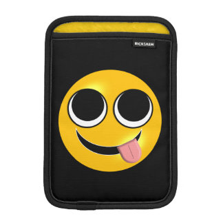 Tongue Out Emoji iPad Mini Sleeve