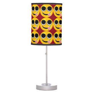 Tongue Out Emoji Table Lamp