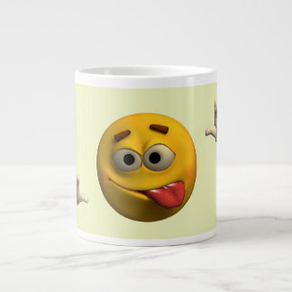 Tongue Out Large Coffee Mug