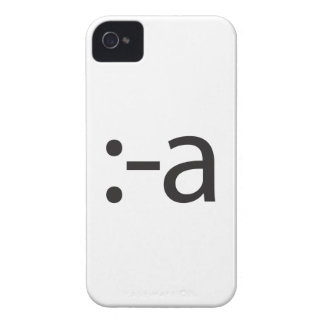 tongue touching nose.ai iPhone 4 Case-Mate cases