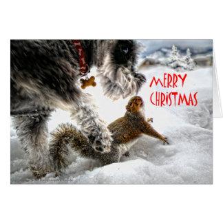 Toni and Lena Merry Christmas Card