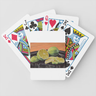 Tonic and Lime Bicycle Playing Cards