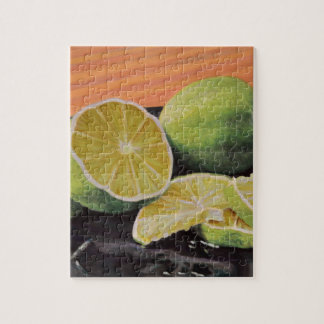 Tonic and Lime Jigsaw Puzzle