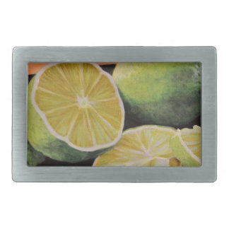 Tonic and Lime Rectangular Belt Buckle