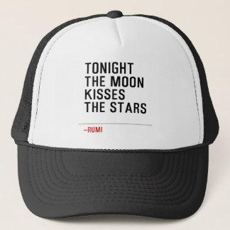TONIGHT-THE-MOON-KISSES-THE-STARS TRUCKER HAT