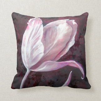 Tonkinson Collection - Fabric prints - Tulip 1 Throw Pillow