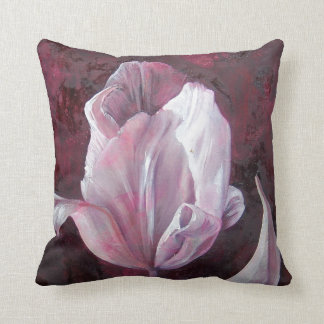 Tonkinson Collection - Fabric prints - Tulip 3 Throw Pillow