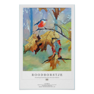 Tonkinson poster collection redbreast