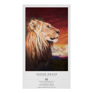 Tonkinson Wildlife collection - Inner pride Poster