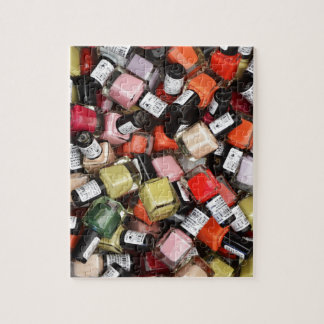 Tons of Nail Polish Bottles Jigsaw Puzzle