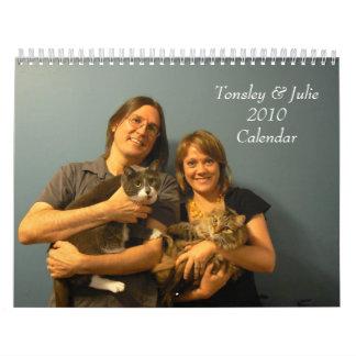 Tonsley & Julie 2010 Calendar