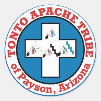 Tonto Apache Classic Round Sticker