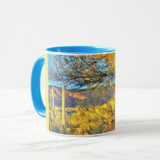 Tonto Mountain Landscape in Orion Coffee Mug