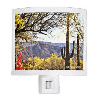 Tonto Mountain Landscape Night Light