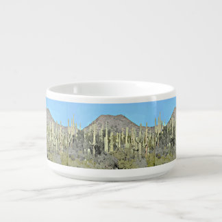 Tonto Saguaros in Cartoon Chili Bowl