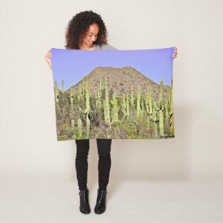 Tontos Saguaro Fleece Blanket