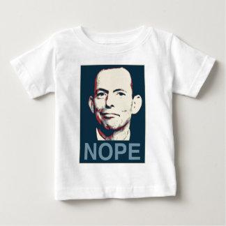 Tony Abbott - Nope Baby T-Shirt