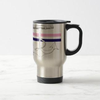 Tony Fernandes 2 mix stripe anchor Travel Mug