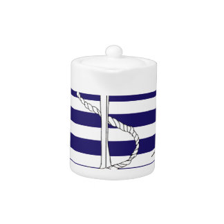 Tony Fernandes 4 blue stripe anchor
