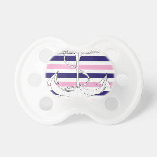 Tony Fernandes 6 mix stripe anchor Pacifier