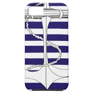 Tony Fernandes 8 blue stripe anchor iPhone 5 Covers