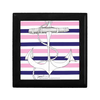 Tony Fernandes 8 mix stripe anchor Gift Box
